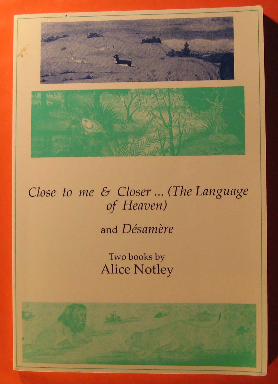 Image for Close to Me and Closer... (The Language of Heaven) and Desamere