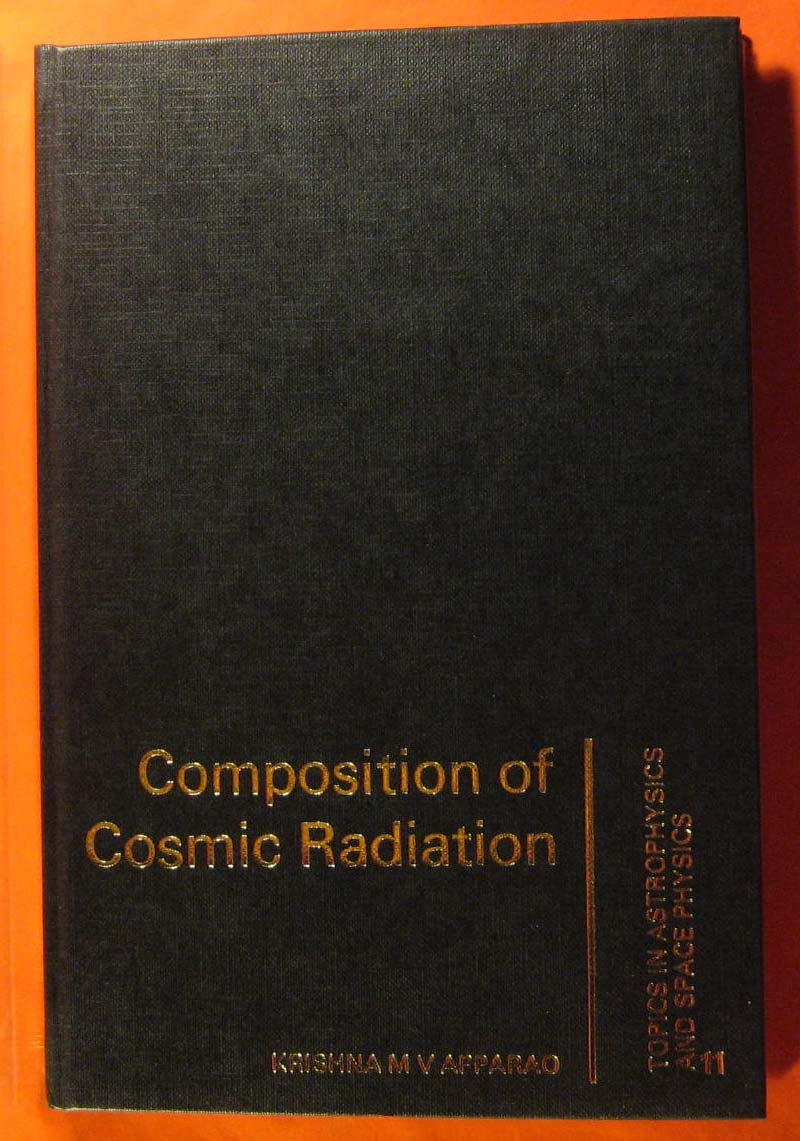 Composition of Cosmic Radiation, Apparao, K. M.