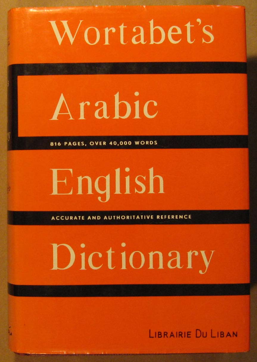 Image for Wortabet's Arabic - English Dictionary