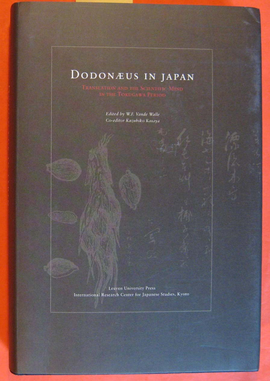 Image for Dodonaeus In Japan: Translation And The Scientific Mind In The Tokugawa Period