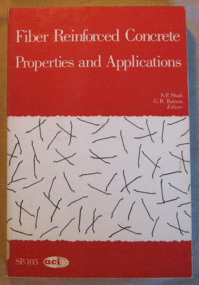 Image for Fiber Reinforced Concrete Properties and Applications