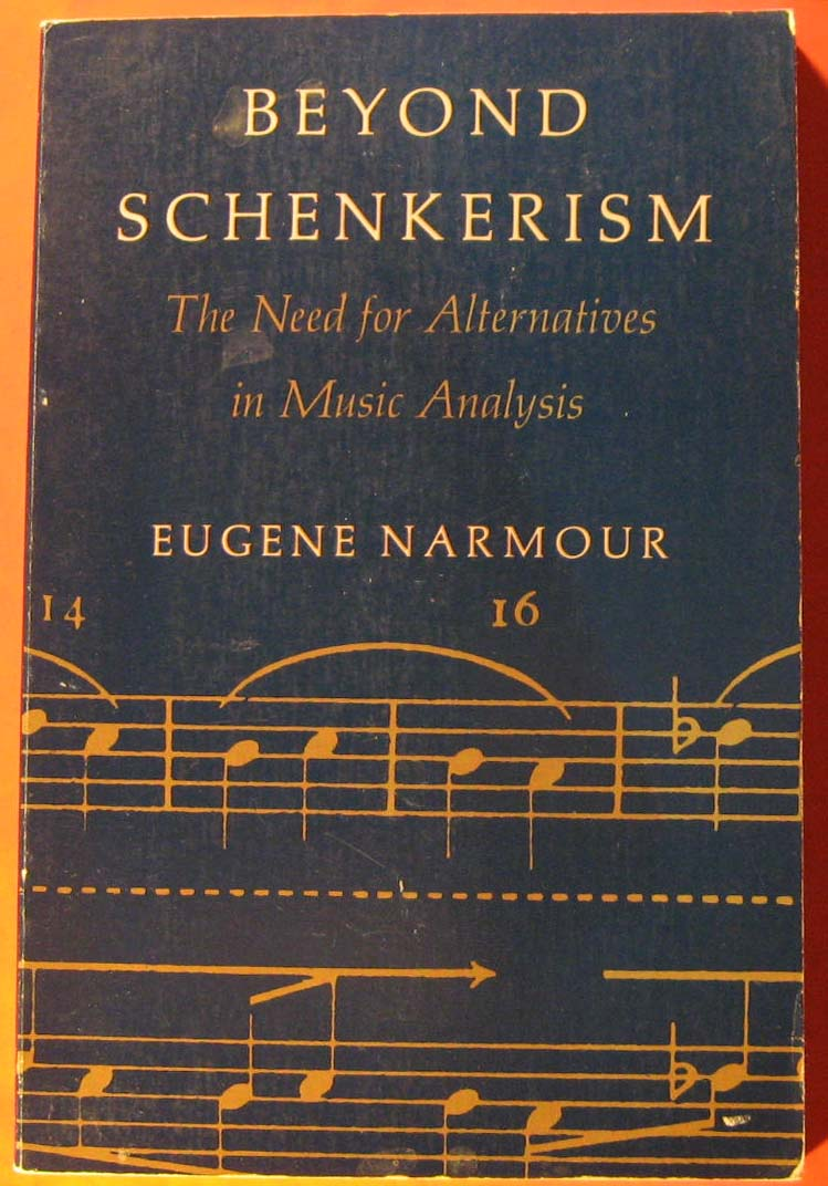Image for Beyond Schenkerism: The Need for Alternatives in Music Analysis