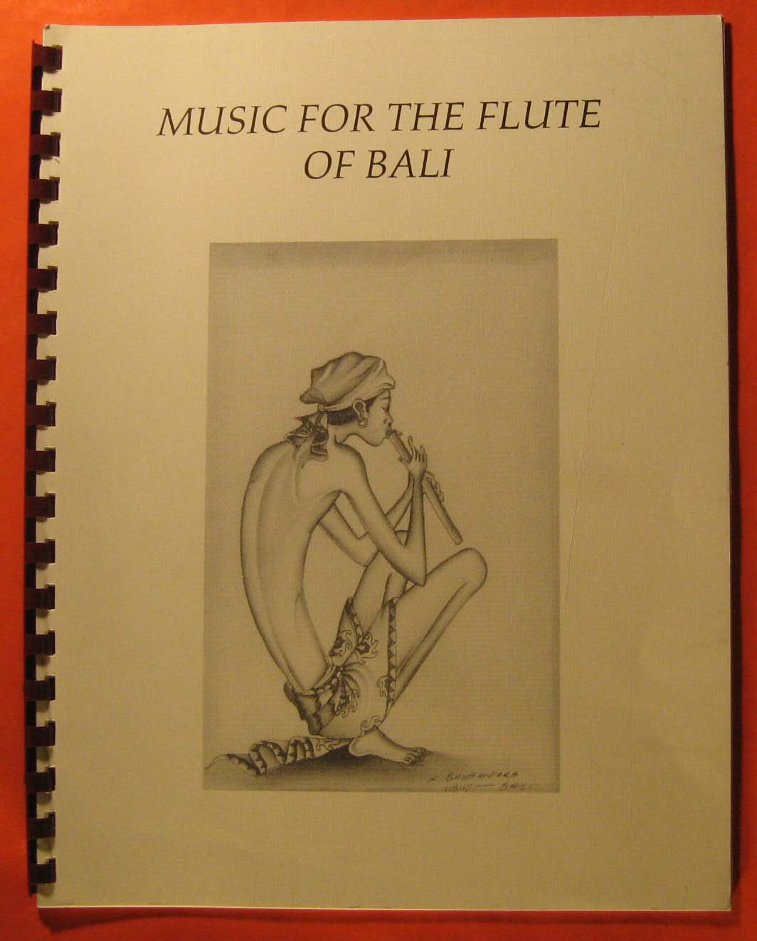 Image for Music for the Flute of Bali