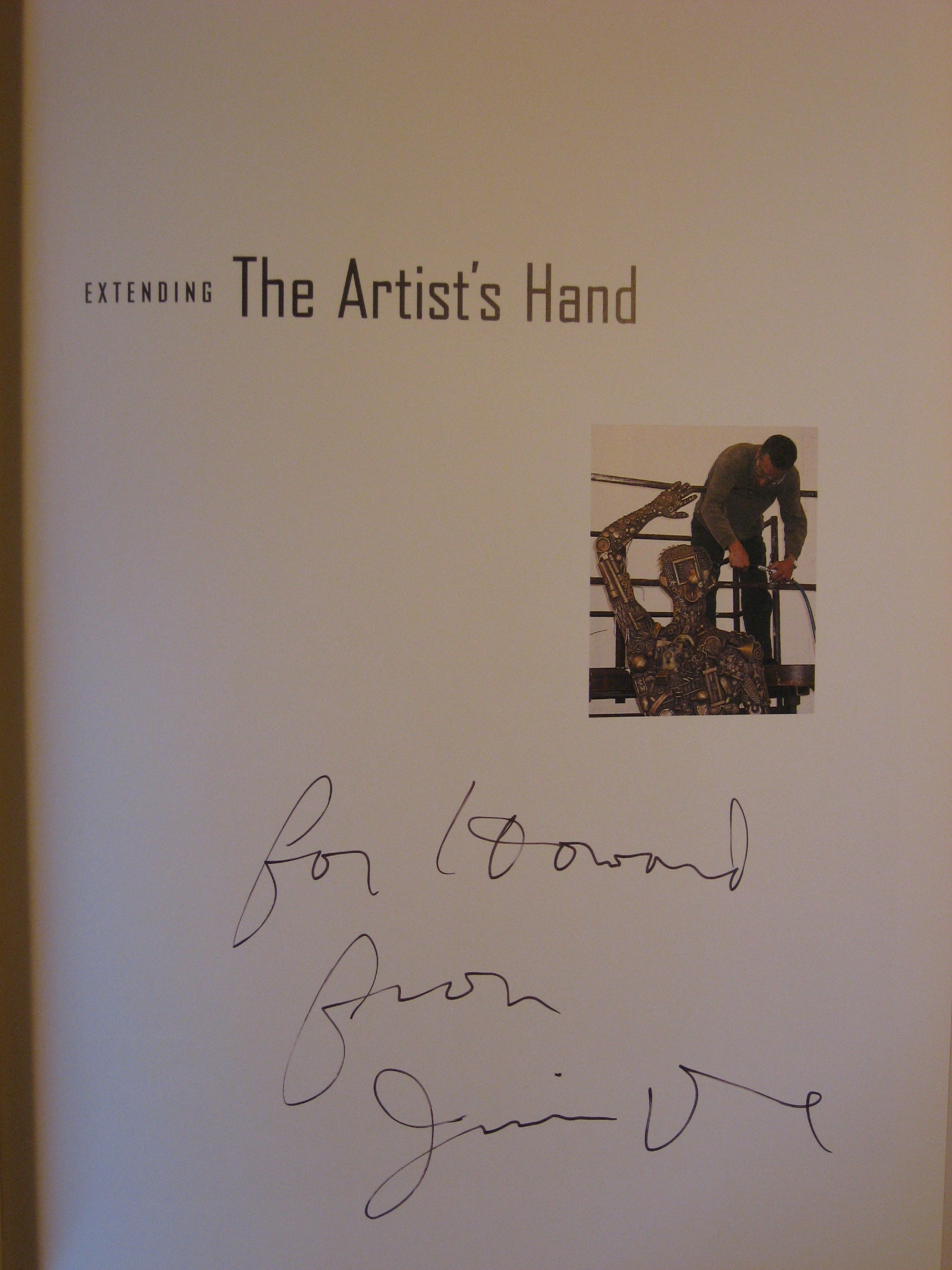 Image for Extending The Artist's Hand: Contemporary Sculpture From The Walla Walla Foundry.