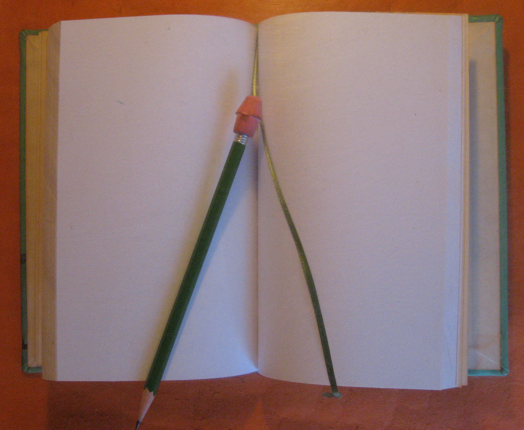 Image for Blank Journal (While the Angels Sing) / Blank Book / Diary / Sketch Book