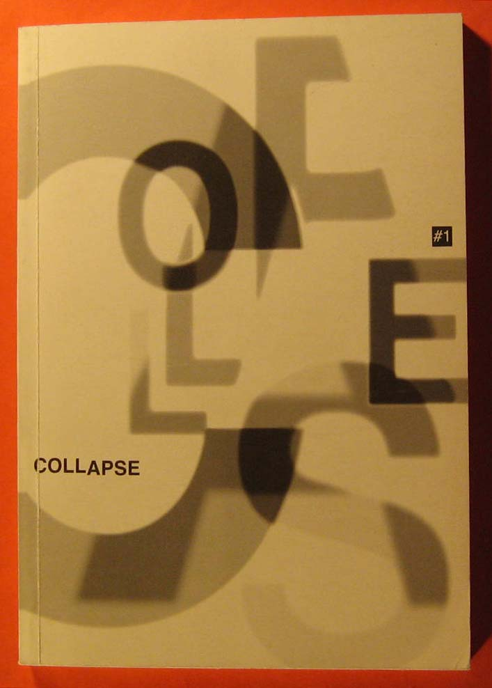 Collapse:  The View From Here #1, No Author Listed