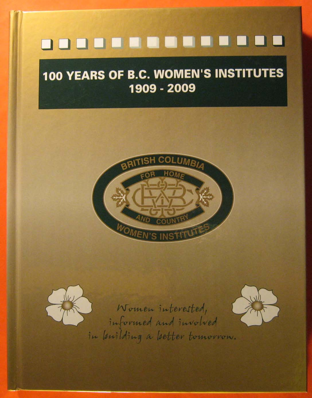 Image for 100 Years of British Columbia Women's Institute 1909-2009