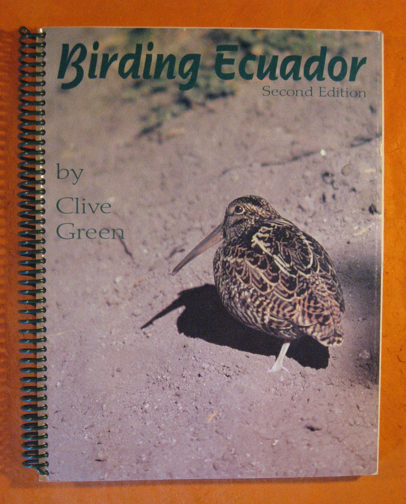 Birding Ecuador, Green, Clive