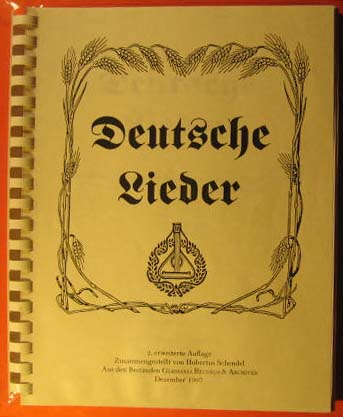 Image for Deutsche Lieder