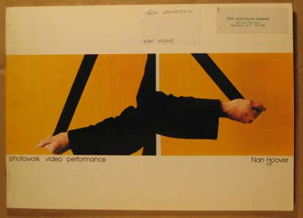 Image for Nan Hoover, Photowork Video Performance