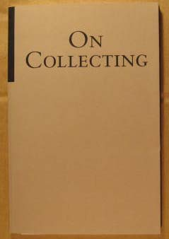 Image for On Collecting