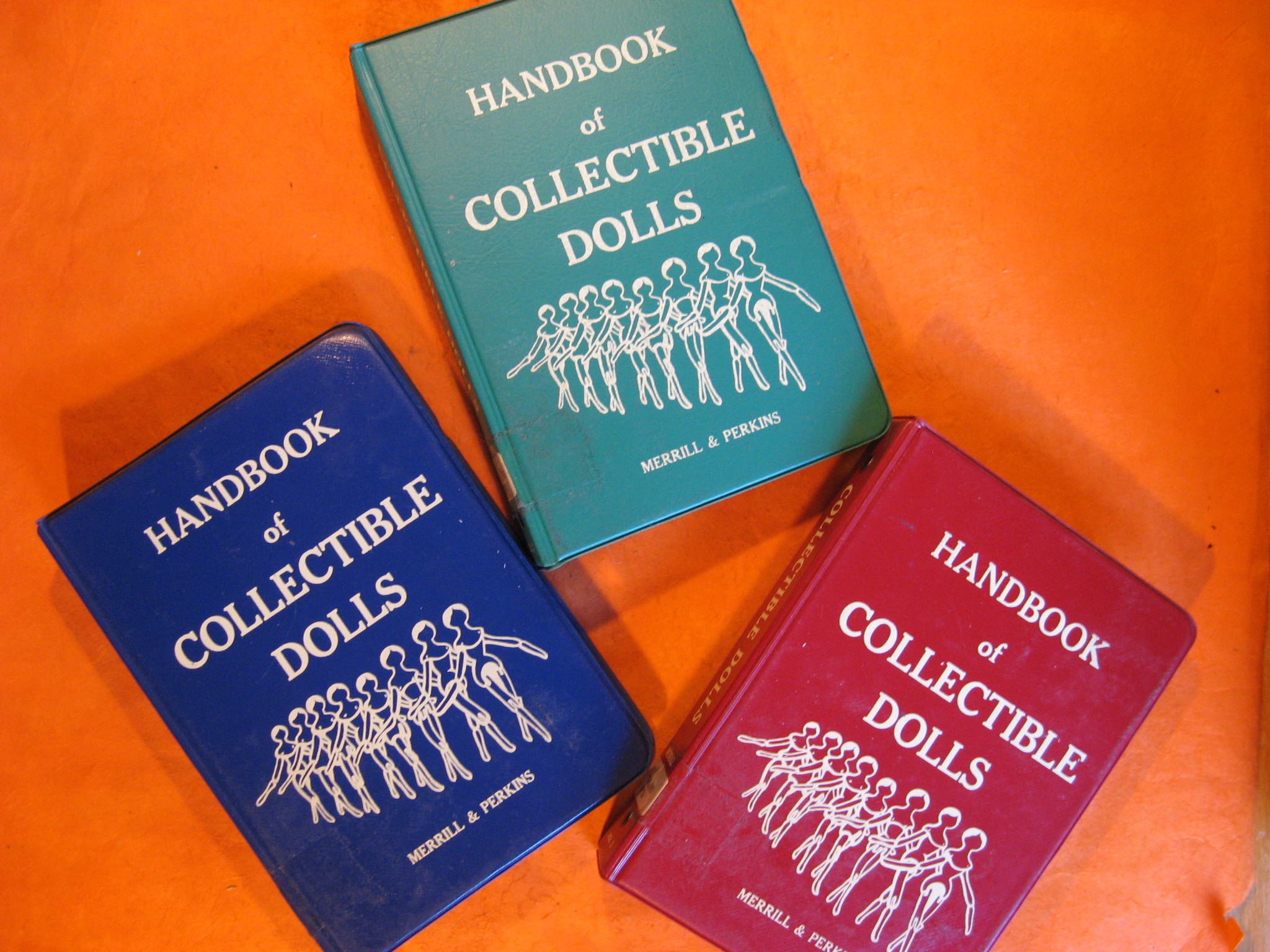 Handbook of Collectible Dolls - 3 Volumes, Merrill, Madeline & Perkins, Nellie W.