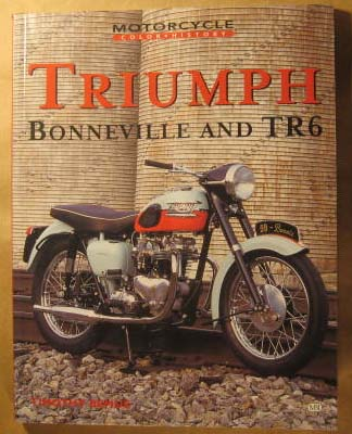 Image for Triumph Bonneville & TR6 (Motorcycle Color History)