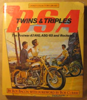 BSA Twins and Triples, Bacon, Roy