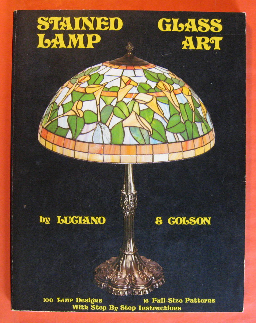Stained Glass Lamp Art, Colson, Luciano & Stan