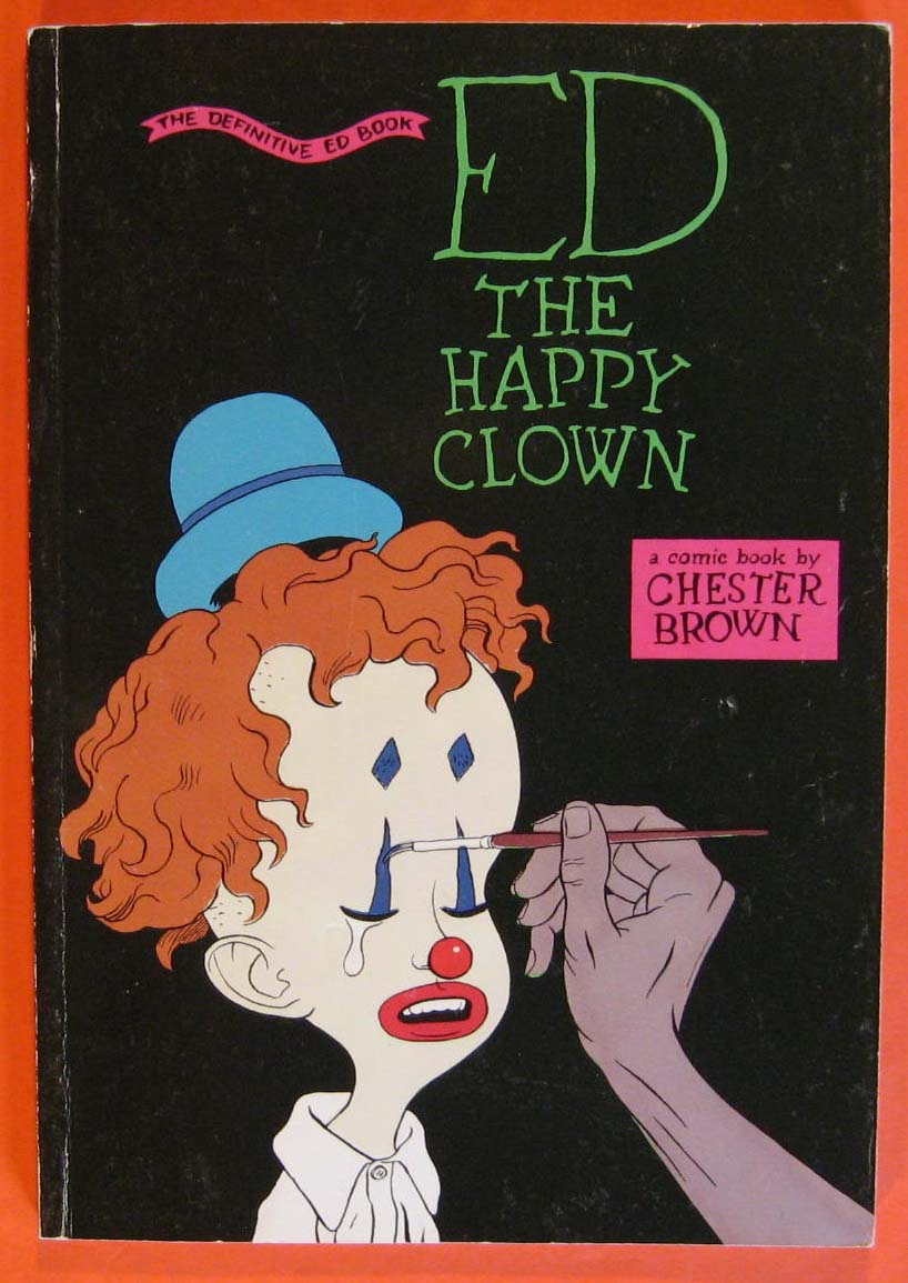 Ed The Happy Clown, Brown, Chester