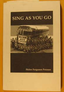 Image for Sing as You Go:  Amy Ferguson and the Nelson boys' Choir