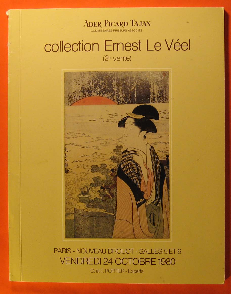 Image for Collection Ernest Le Veel Estampes Japonaises et Chinoises (catalogue for October 24, 1980 sale)