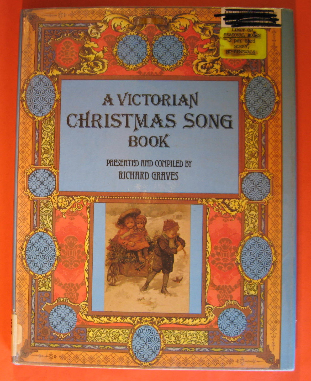 A Victorian Christmas Song Book, Graves, Richard