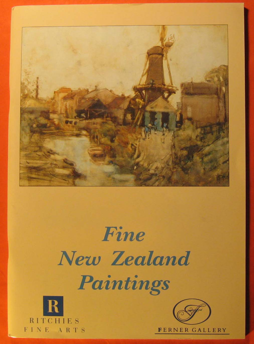 Image for Fine New Zealand Paintings 1844-1990
