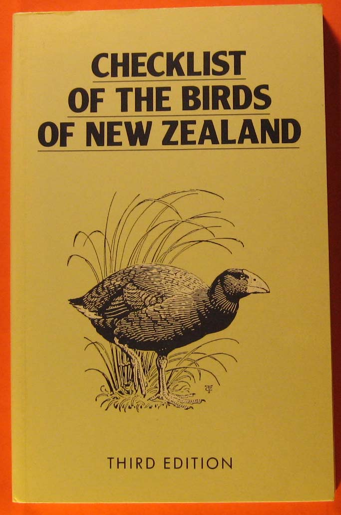 Image for Checklist of the Birds of New Zealand