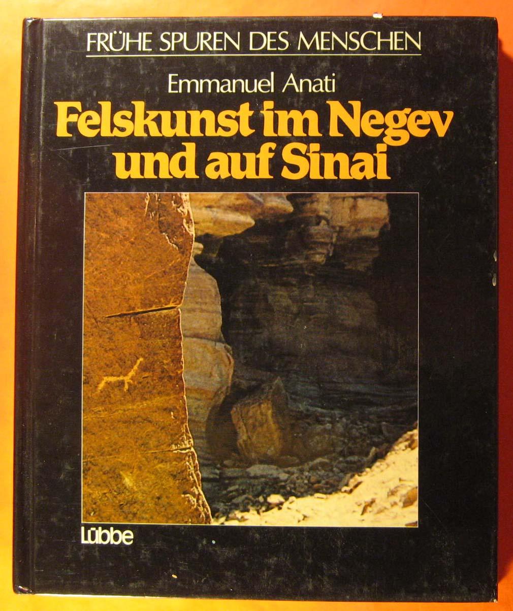 Felskunst im Negev und auf Sinai, Anati, Emmanuel