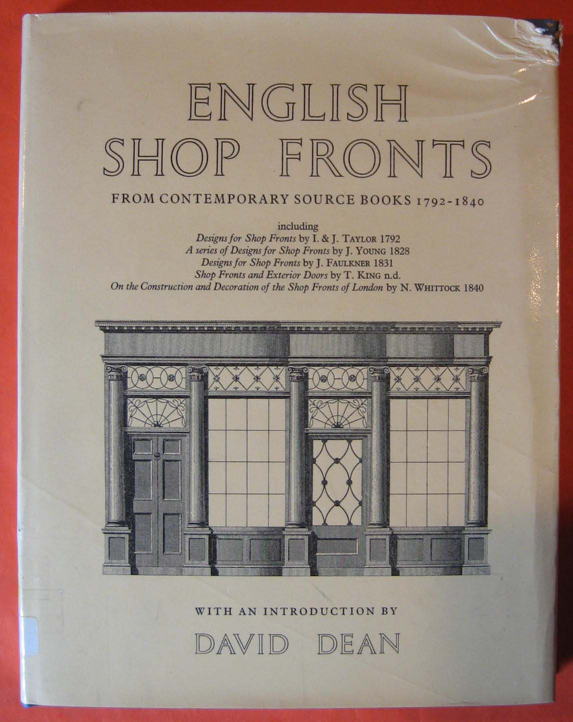 Image for English Shopfronts: From Contemporary Source Books 1792-1840