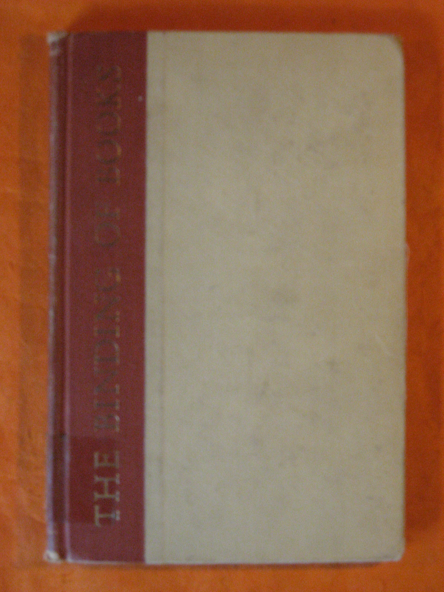 The Binding of Books, Perry, Kenneth F.; Baab, Clarence T.
