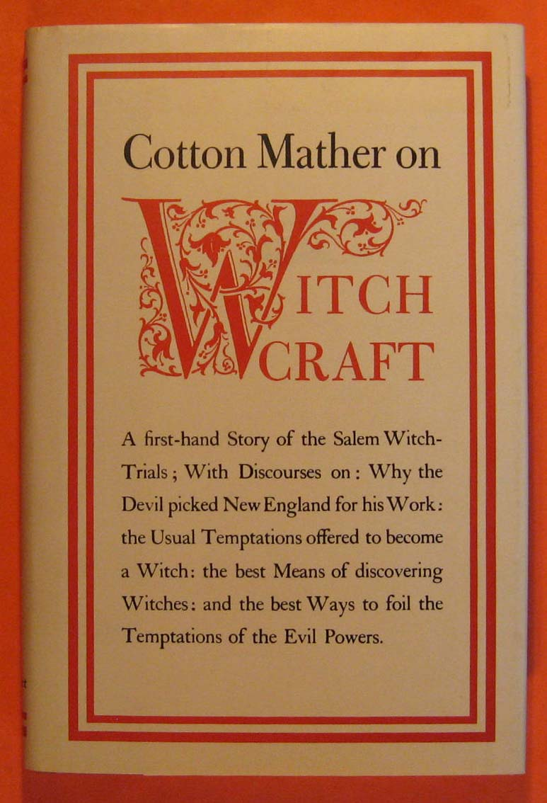 Image for Cotton Mather on Witchcraft