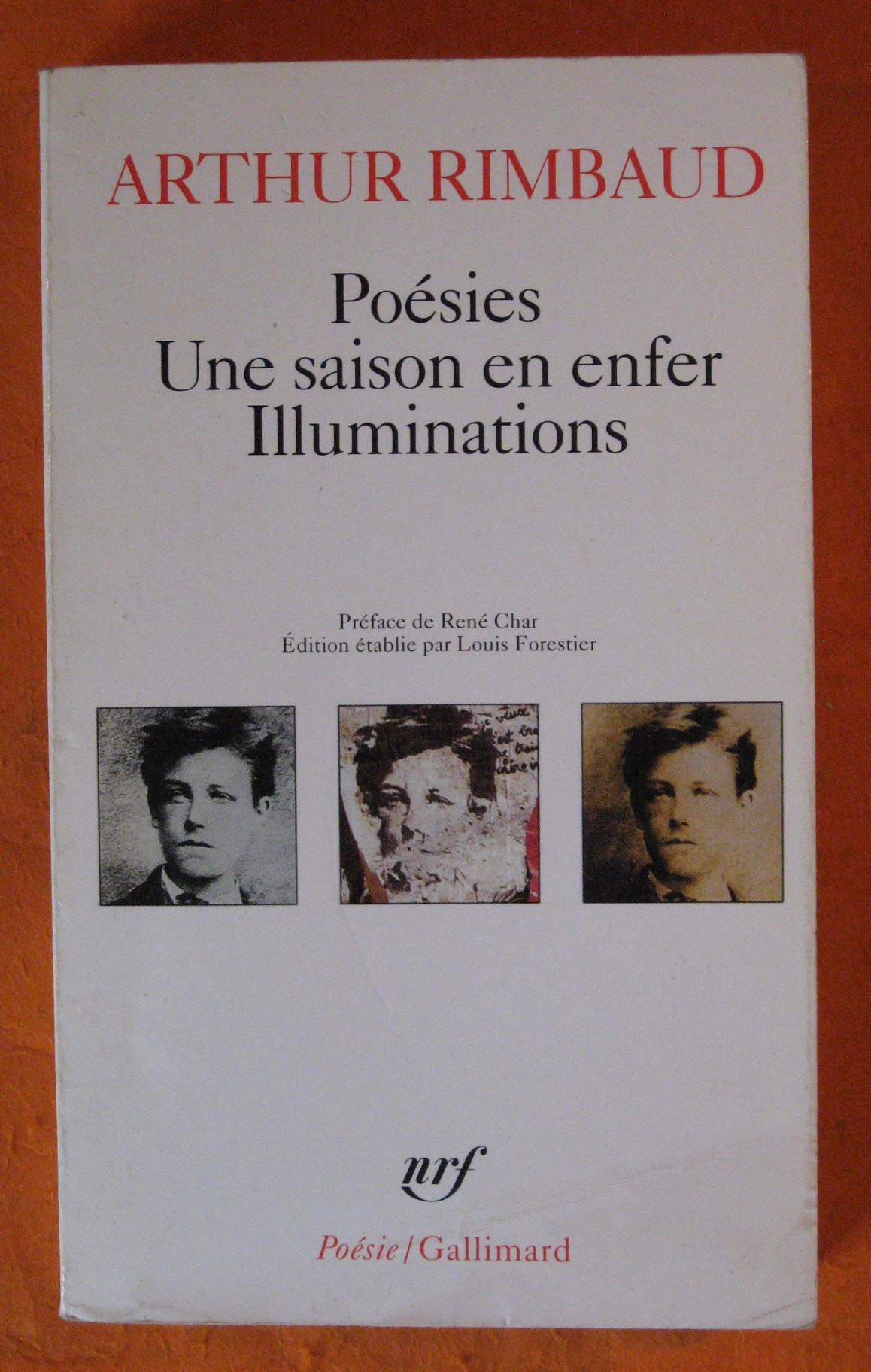Poesies : Une Saison en Enfer, Illuminations, Rimbaud, Arthur