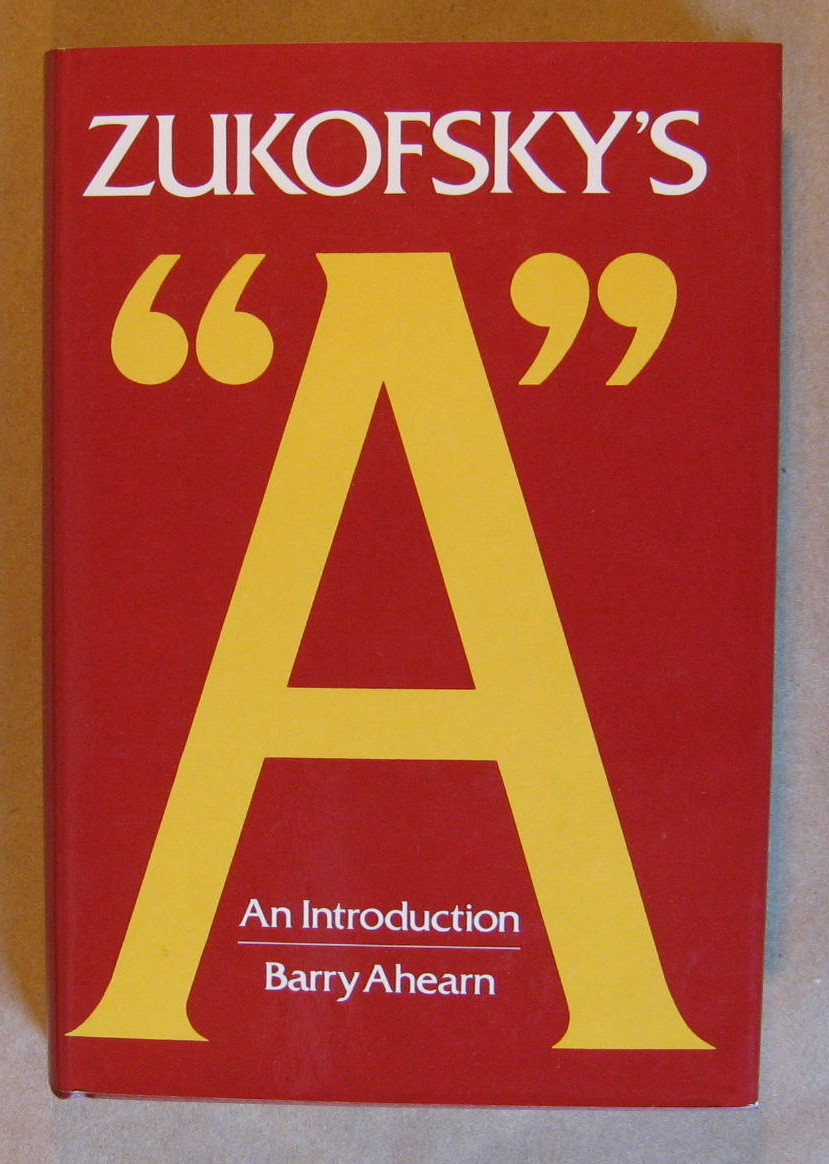 "Image for Zukofsky's ""A"": An Introduction"