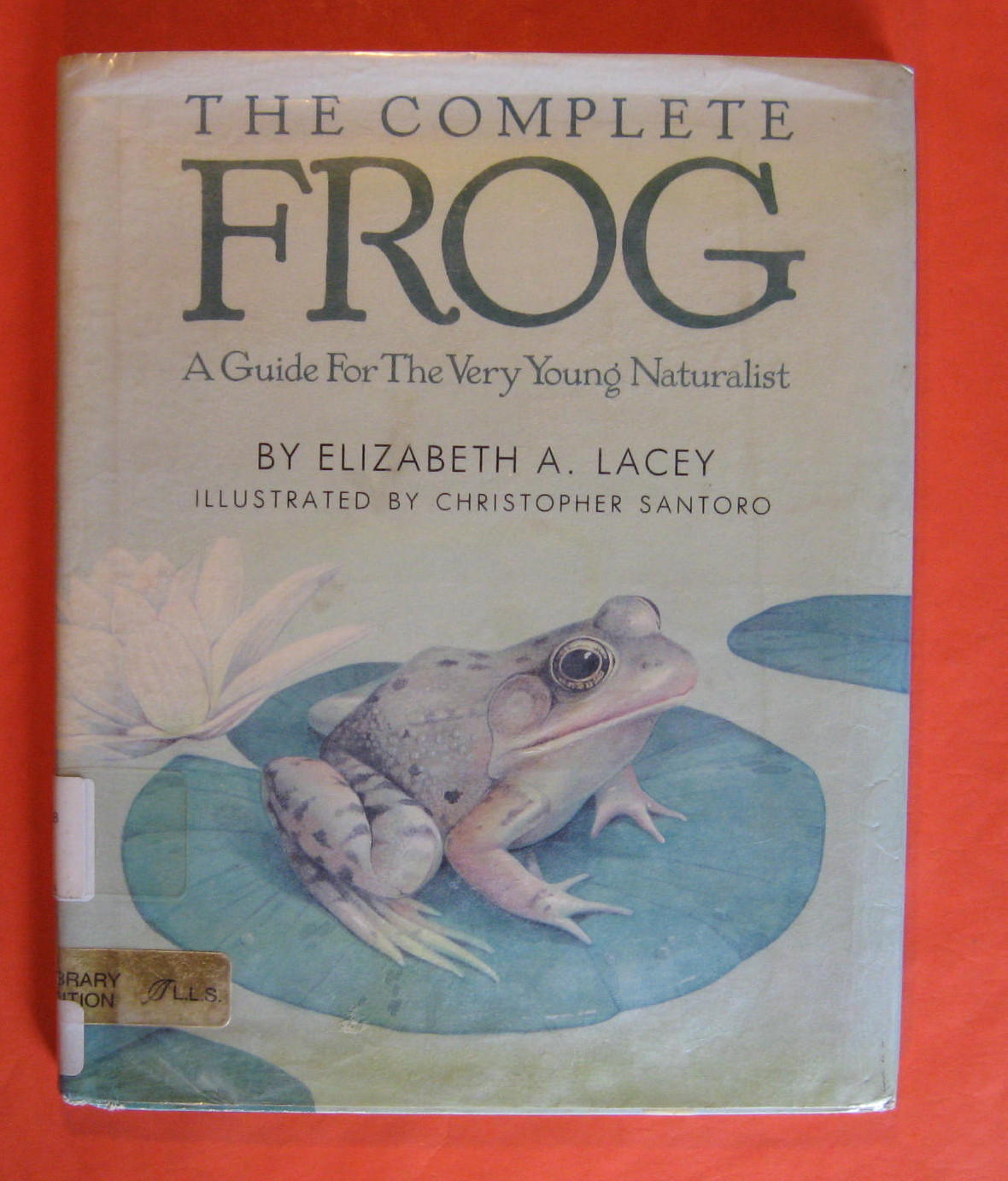 Complete Frog: A Guide for the Very Young Naturalist, Lacey, Elizabeth A.