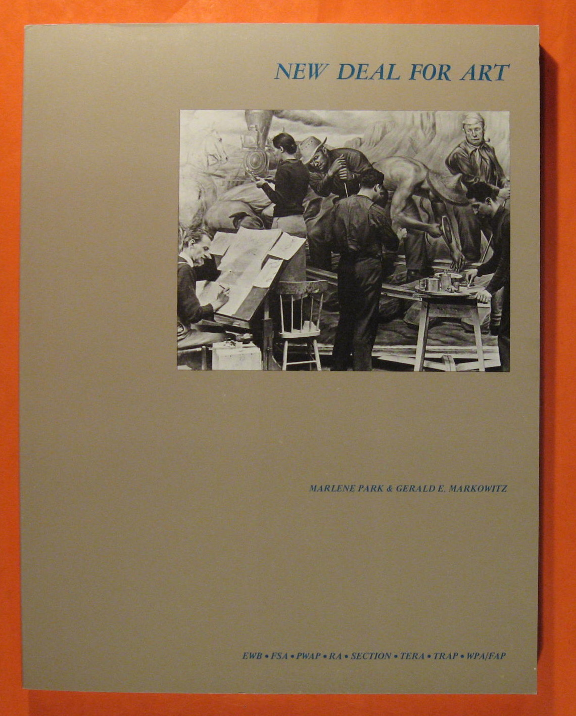 Image for New Deal for Art: The Government Art Projects of the 1930's with Examples from New Your City and State