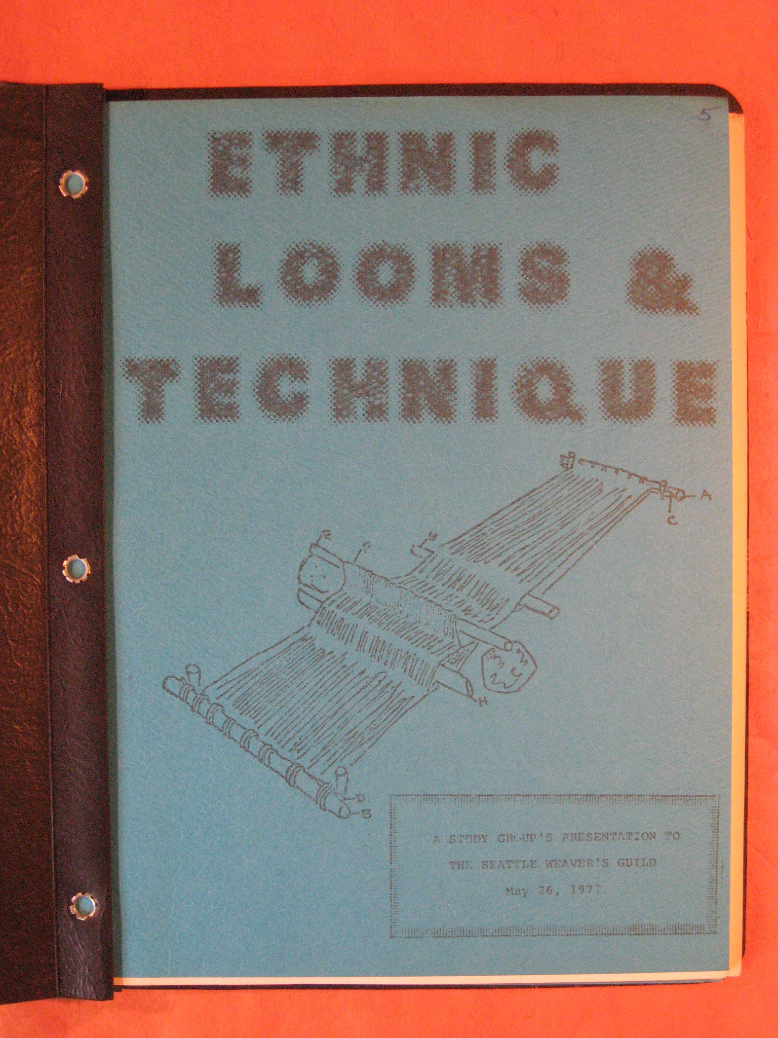 Image for Ethnic Looms and Technique