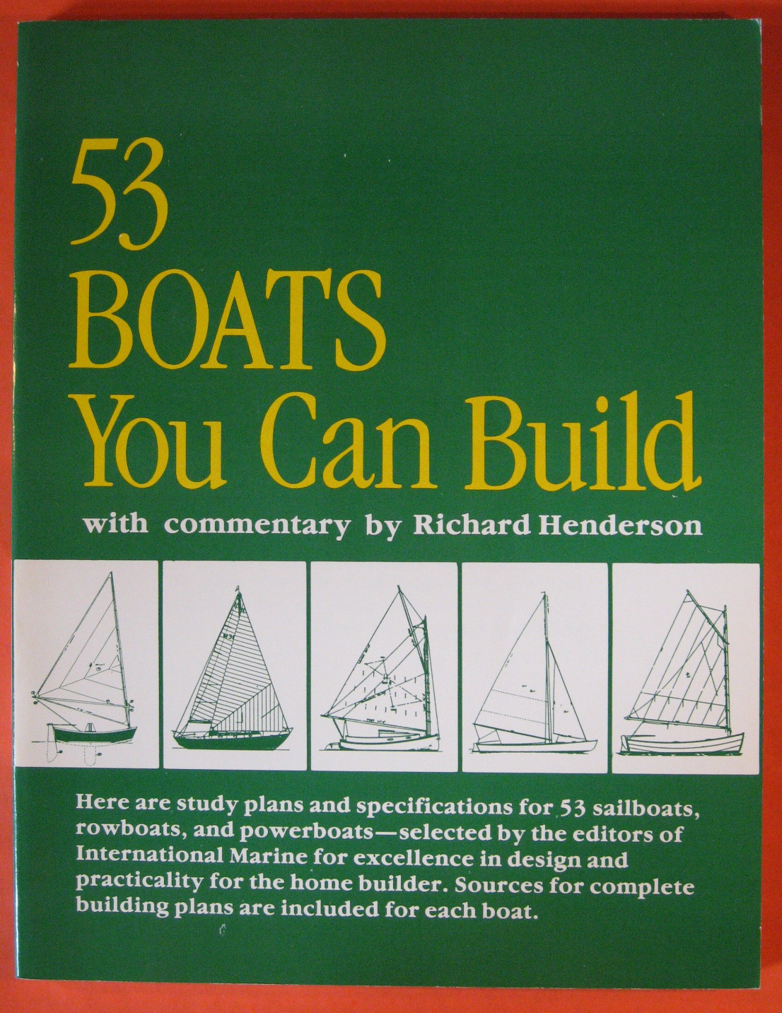 Image for 53 Boats You Can Build: With Commentary