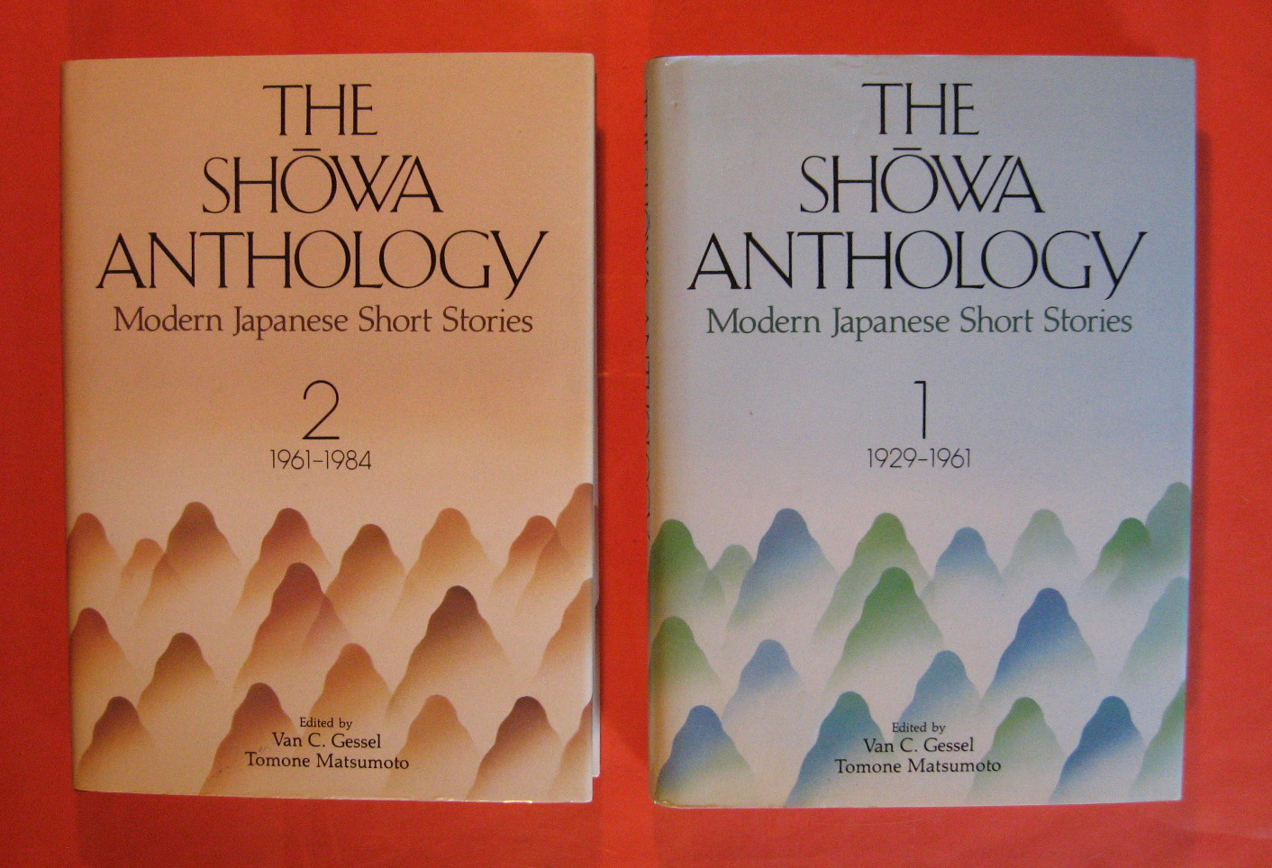 The Showa Anthology: Modern Japanese Short Stories 1929-1961 (V. 1) and Modern Japanese Short Stories 1961 - 1984 (V. 2), Gessel, Van C. & Matsumoto, Tomone