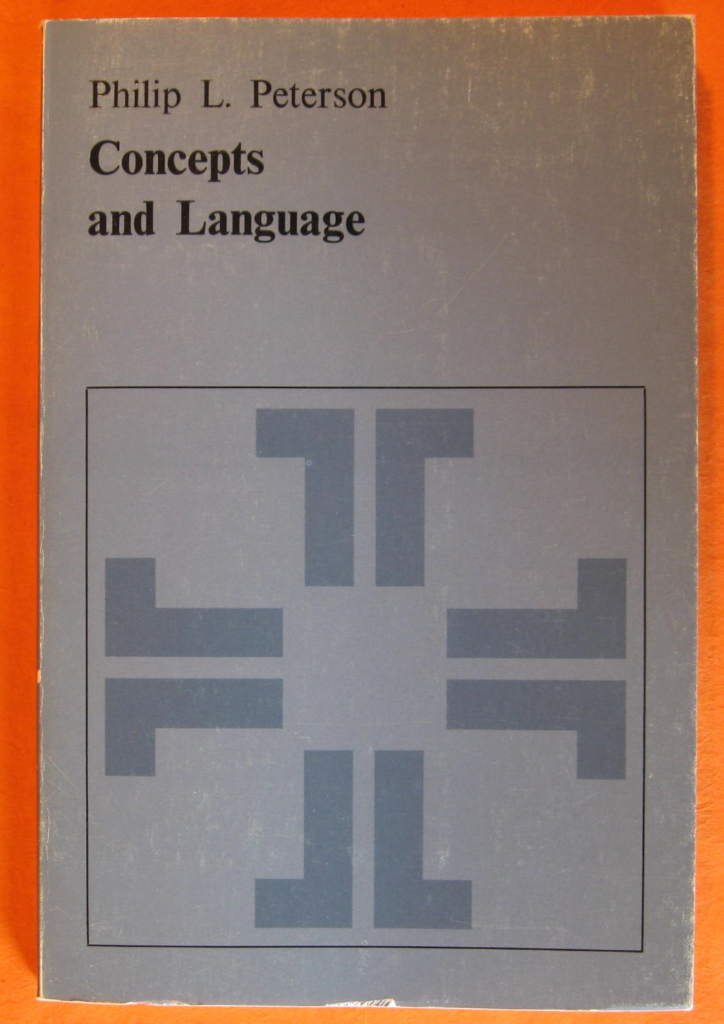 Concepts and Language, Peterson, Philip l