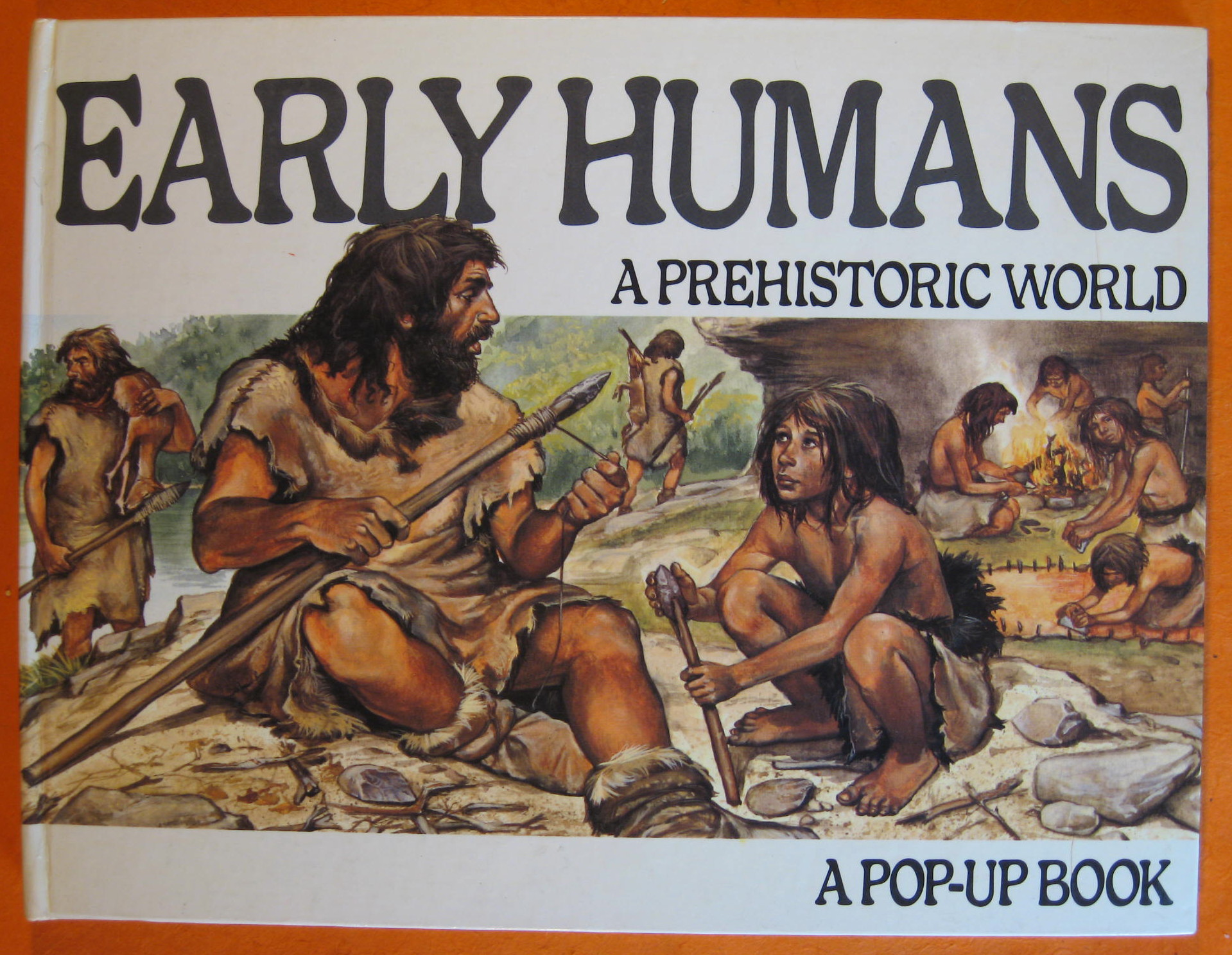 Early Humans, A Prehistoric World:  A Pop-up Book, Berger, Melvin
