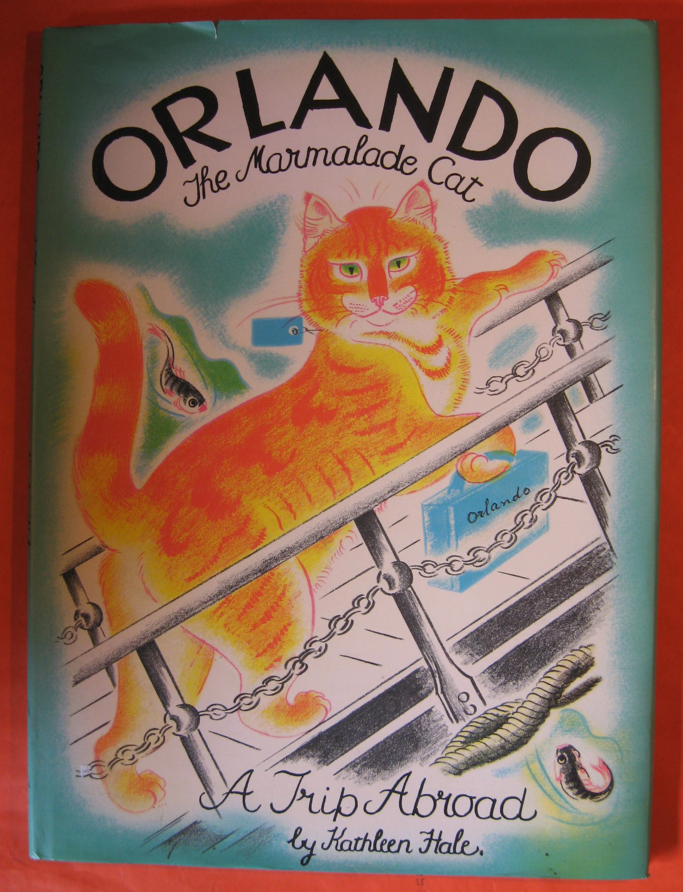 Orlando The Marmalade Cat:   A Trip Abroad
