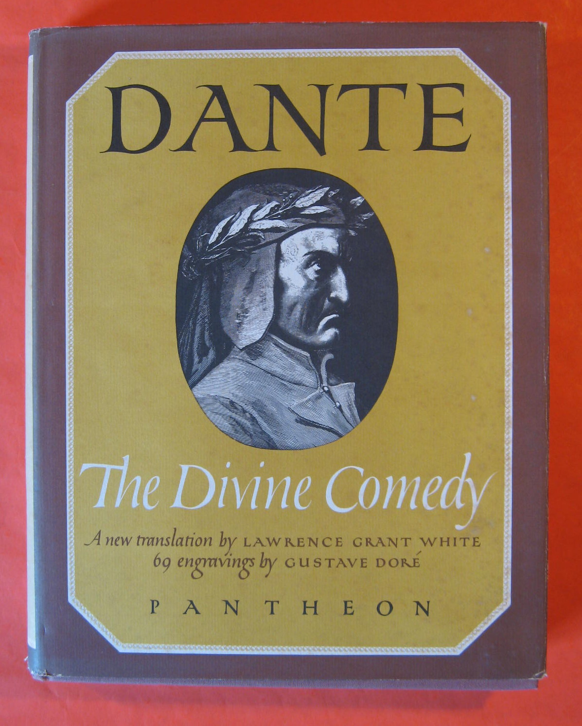 The Divine Comedy:  The Inferno, Purgatorio, and Paradiso, Dante Alighieri; White, Lawrence Grant (translator)