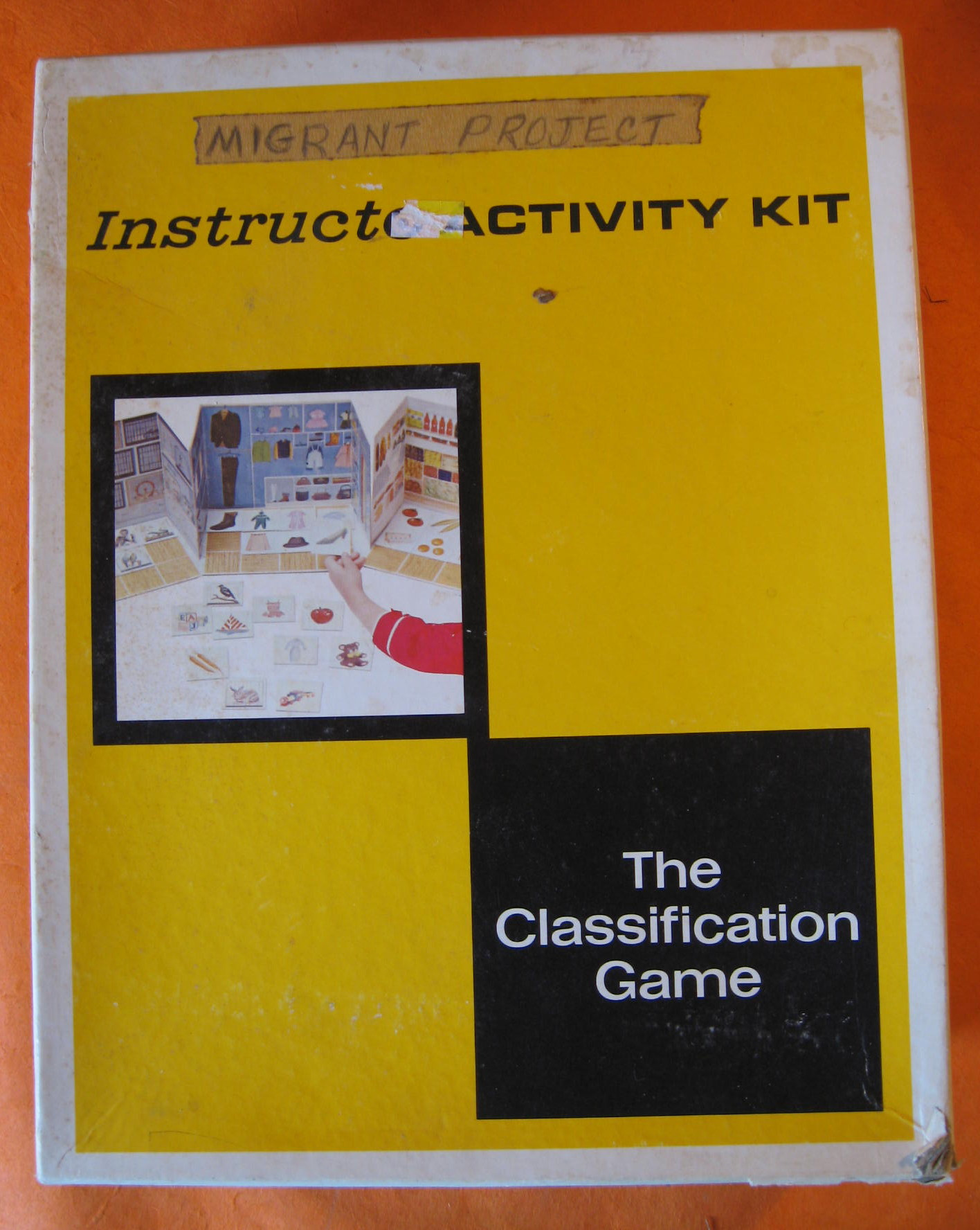Instructo Activity Kit:  The Classification Game