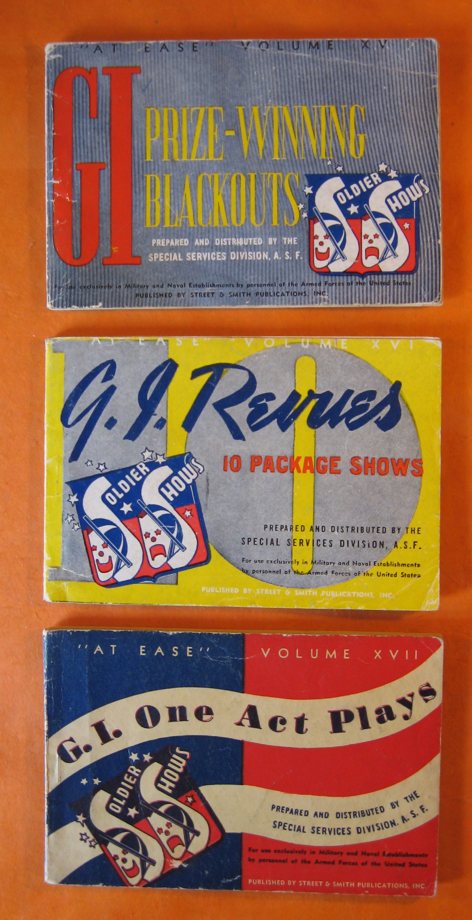 Three G.I. Booklets from WWII