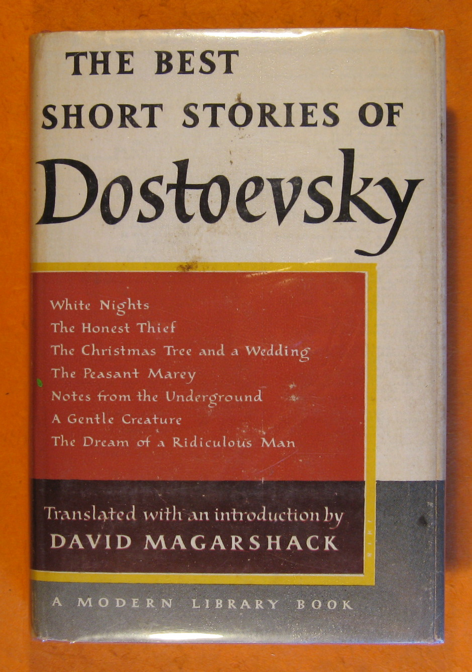 Best Short Stories of Dostoevsky, Dostoevsky, Fyodor