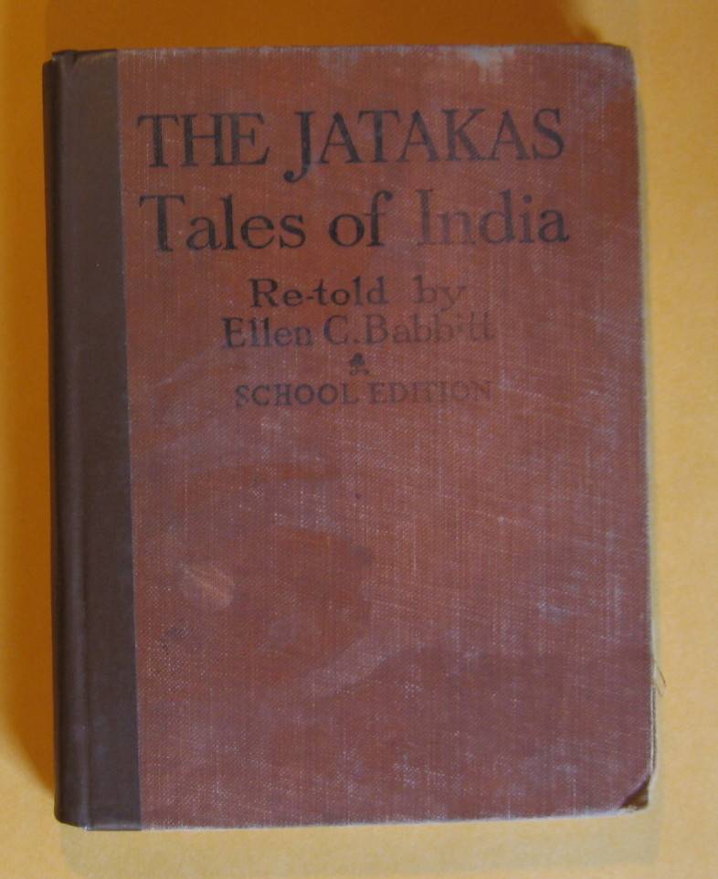 The Jatakas Tales of India, Babbitt, Ellen C.