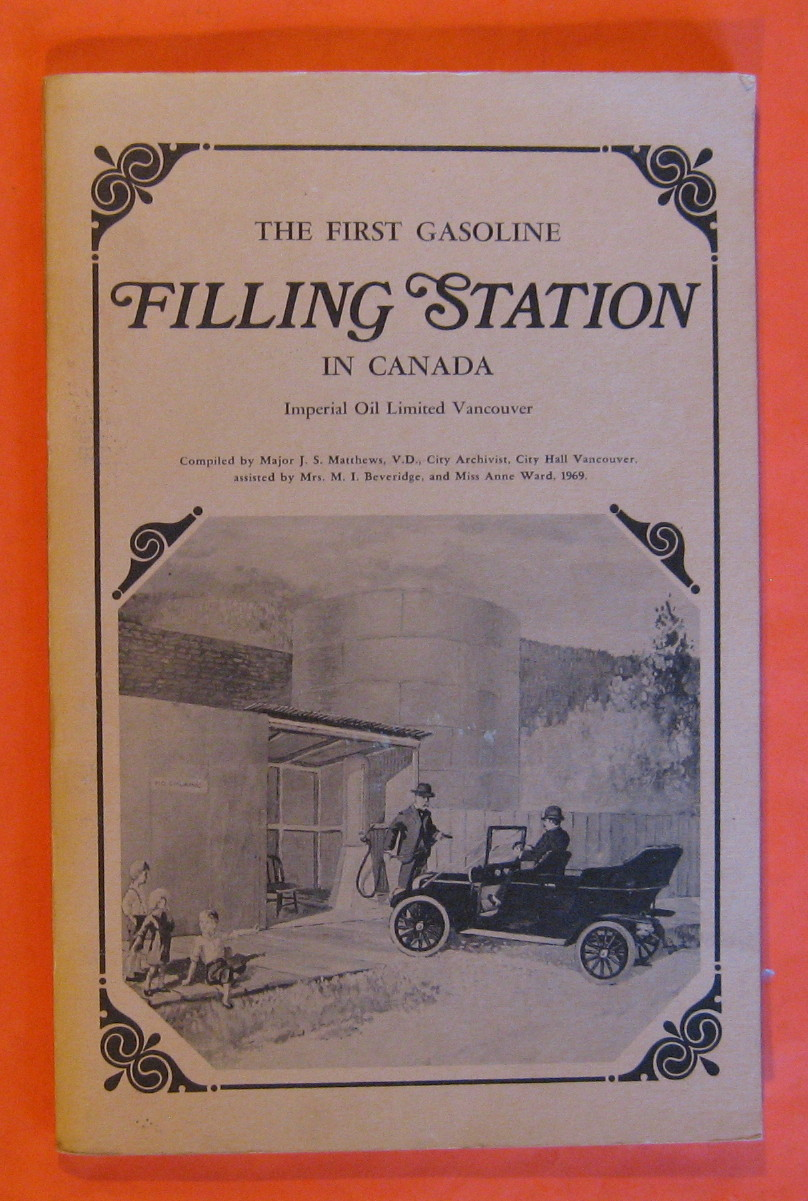 Image for The First Gasoline Filling Station in Canada