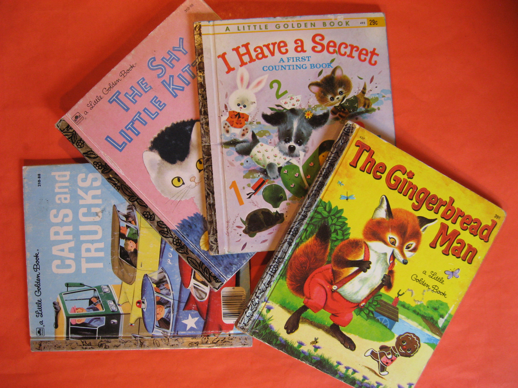 Four Little Golden Books