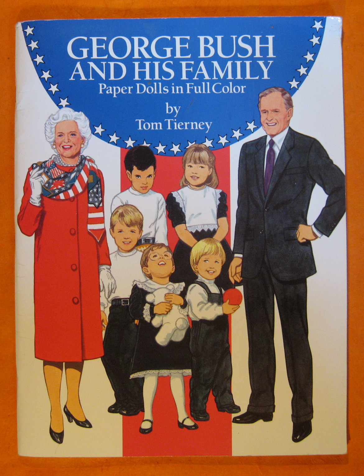 George H. Bush and His Family Paper Dolls, Tierney, Tom