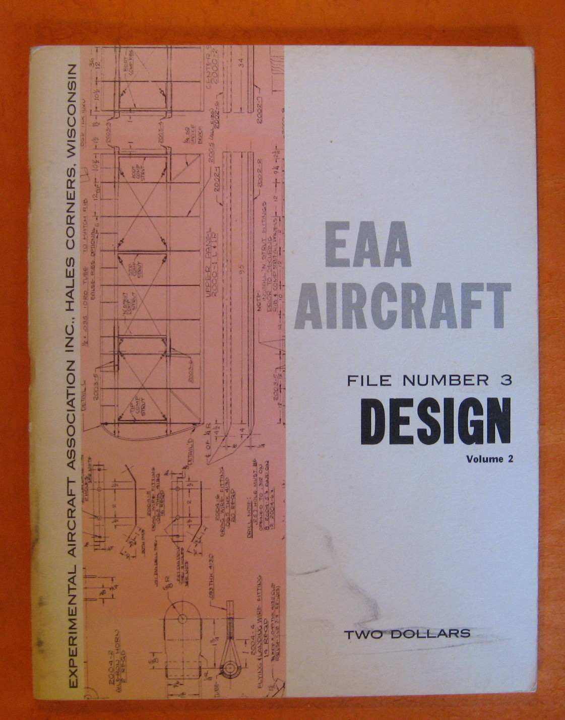EAA Aircraft: File Number 3 Design: Volume 2, No Author