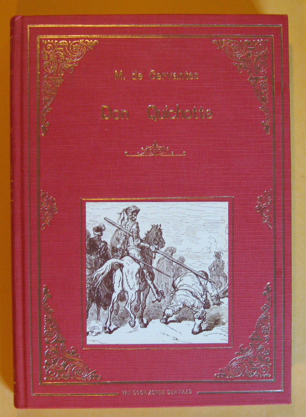 Don Quichotte, Cervantes, M. De
