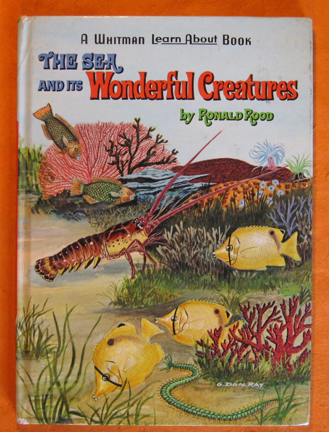 The Sea and Its Wonderful Creatures, Rood, Ronald